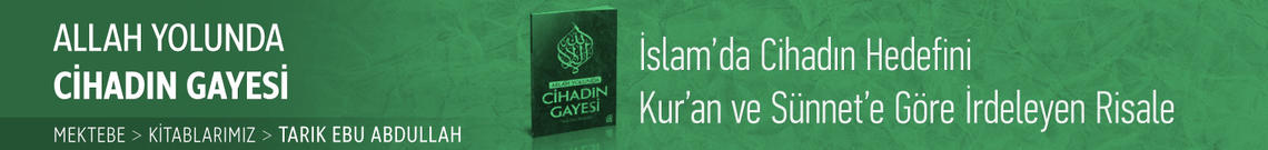 Allah Yolunda Cihad Gayesi