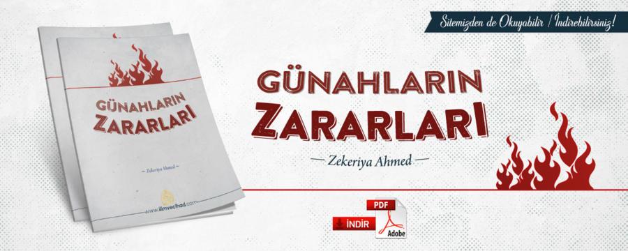 Günahların Zararları - Zekeriya Ahmed - Kitablarımız / Mektebe